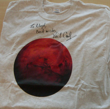 a T-shirt from Vint Cerf