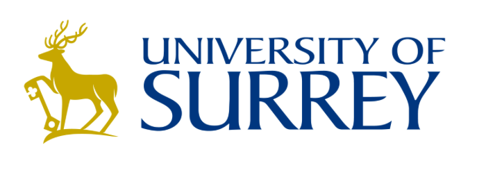 Logo for the University of Surrey