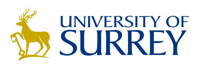 """Résultat de recherche d'images pour """"university of surrey logo"""""""